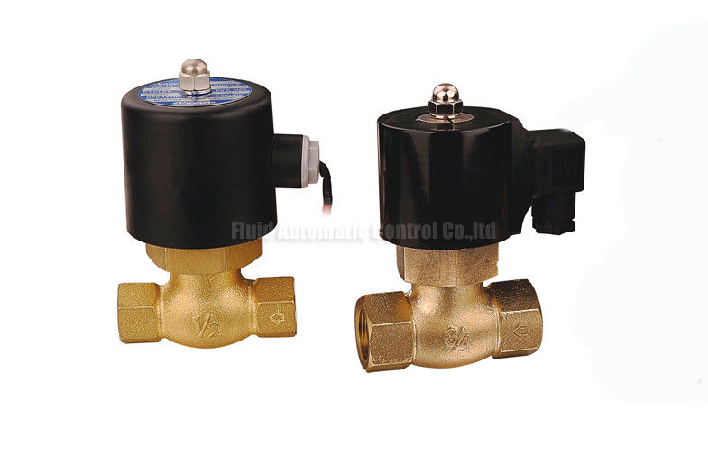 High Temperature 1.5MPa 2 Way Pneumatic Solenoid Valve With PTFE Seal For Steam
