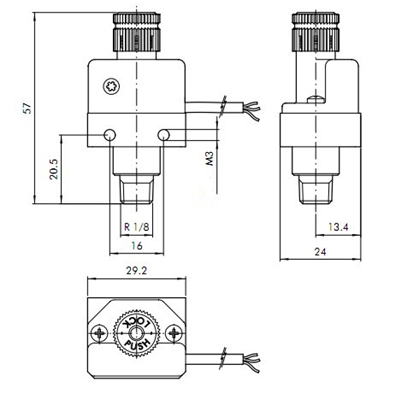 Air Horn Solenoid Wiring Diagram on saturn outlook wiring diagram