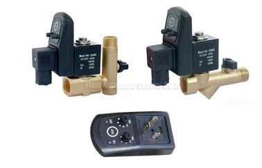 Messing-Timer-automatisches Abtropfgestell 16bar 5mm mit Sieb-Filter und Entwässerungs-Ventil