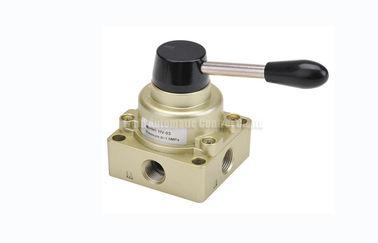 """3 Weisen-pneumatisches manuelles Richtungssteuerhandumschaltventil G1/4 """" ~G1/2"""" der Positions-4"""